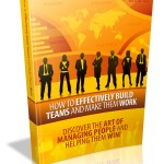 Build Teams and Make Them Work MRR Ebook