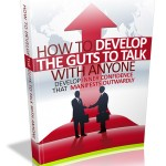 How to Develop the Guts to Talk to Anyone MRR Ebook