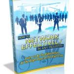 Network Effectively MRR Ebook