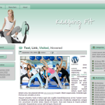 Keeping Fit Wordpress Theme