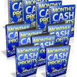Monthly Cash Profits