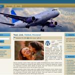 Taking Flight Wordpress Theme