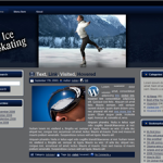 Ice Skating Wordpress Theme