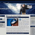 Snowboarding Wordpress Theme