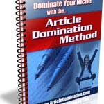 Article Domination Method