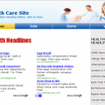 Health Care Adsense Clickbank Website