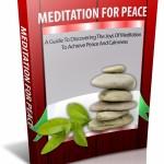 Meditation For Peace MRR Ebook