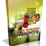 Online Giveaway Insights MRR Ebook