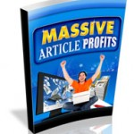Massive Article Profits MRR Ebook