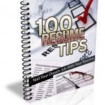 Resume Writing Tips Ebook