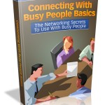Connecting With Busy People MRR Ebook