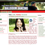 Ballroom Dancing Wordpress Theme