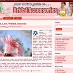 Bridal Accessories Word Press Theme