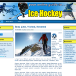 Ice Hockey Wordpress Theme