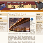 Internet Banking Wordpress Theme