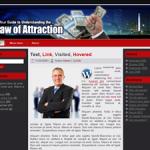 Law of Attraction Wordpress Theme