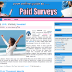 Paid Surveys Wordpress Theme
