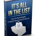 List Building MRR Ebook