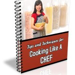 PLR Cooking Chef Ebook