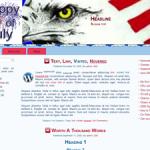 4th of July Wordpress Theme