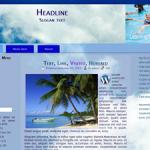 Learn to Swim Wordpress Theme
