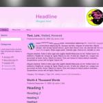 Ladies Night Wordpress Theme