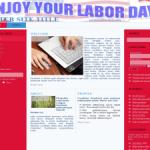 Labor Day Wordpress Theme