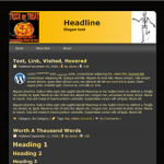 Wordpress Halloween Theme