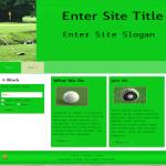 PLR Wordpress Golf Theme