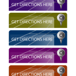 Mobile Direction Buttons