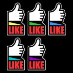 Mobile Social Media Buttons