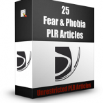Fear-PLR-Articles