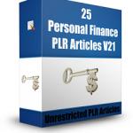 PLR Articles Finance