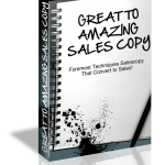Great to Amazing Sales Copy