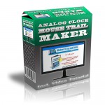 Analog-Clock-Mouse-Trail-Maker