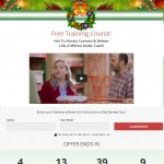 Christmas Squeeze Page PLR