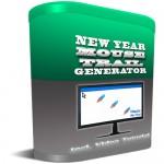 NewYearMouseTrailGenerator