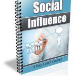 Social Influence Ecourse PLR