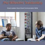 communication skills leadership