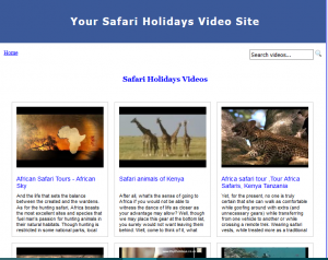 Safari_Video_Site_Builder