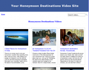 Honeymoon_Destinations_Video_Site_Builder
