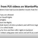 PLR_Videos