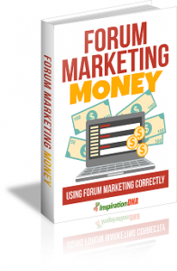 Forum Marketing Money MRR Ebook