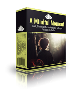 A Mindful Moment MRR Ebook